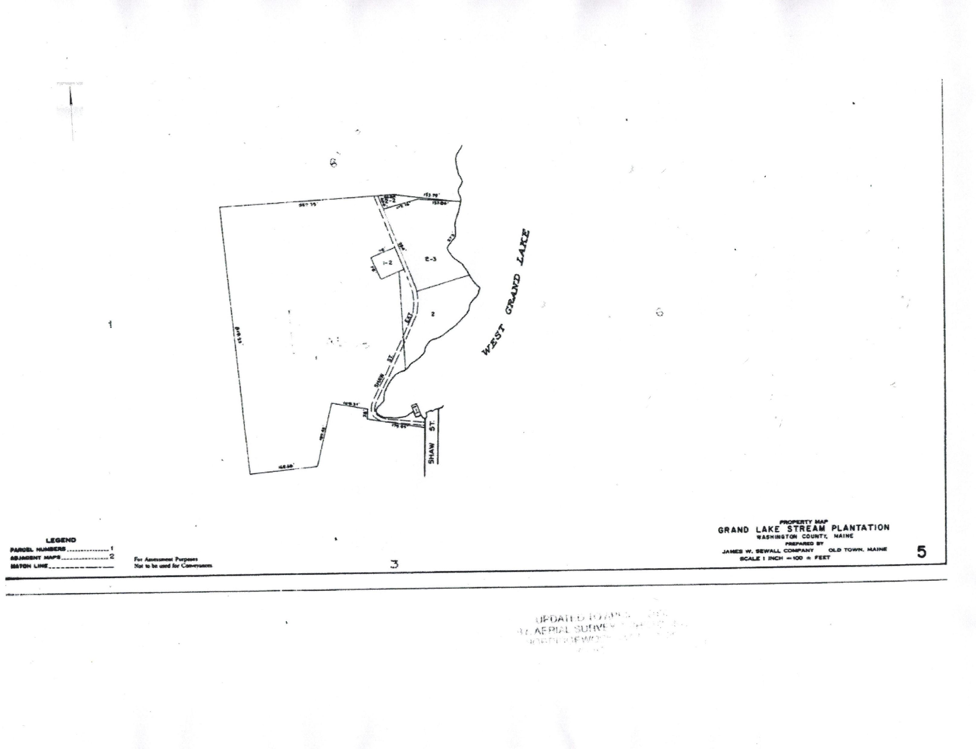 Grand Lake Stream Maine Map.Map 5 Grand Lake Stream Maine