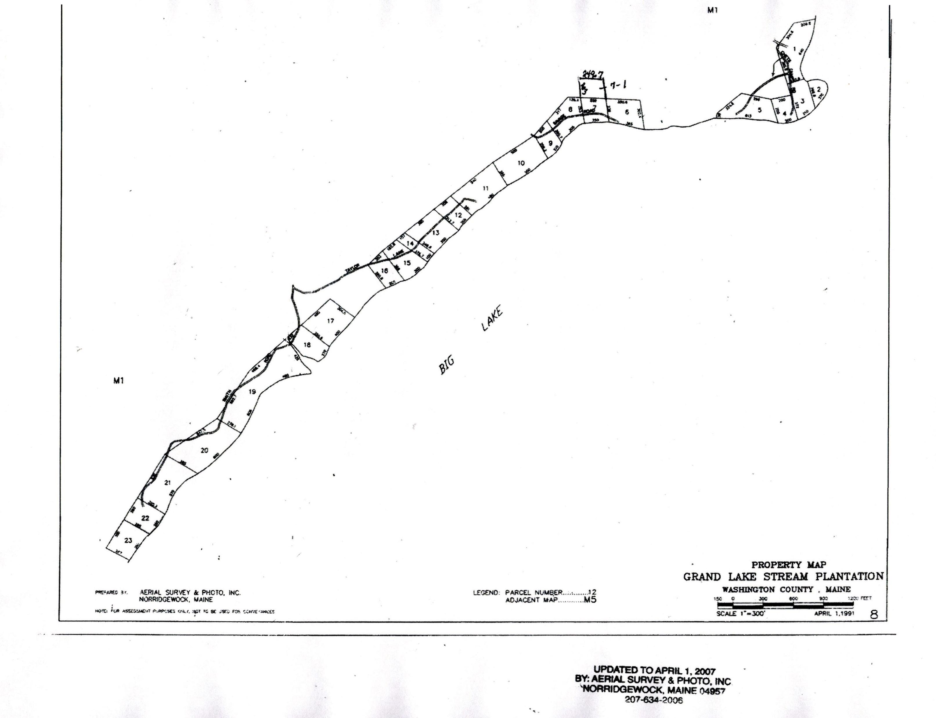 Grand Lake Stream Maine Map.Map 8 Grand Lake Stream Maine